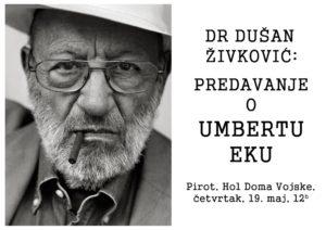 Umberto Eko Narodna biblioteka Pirot